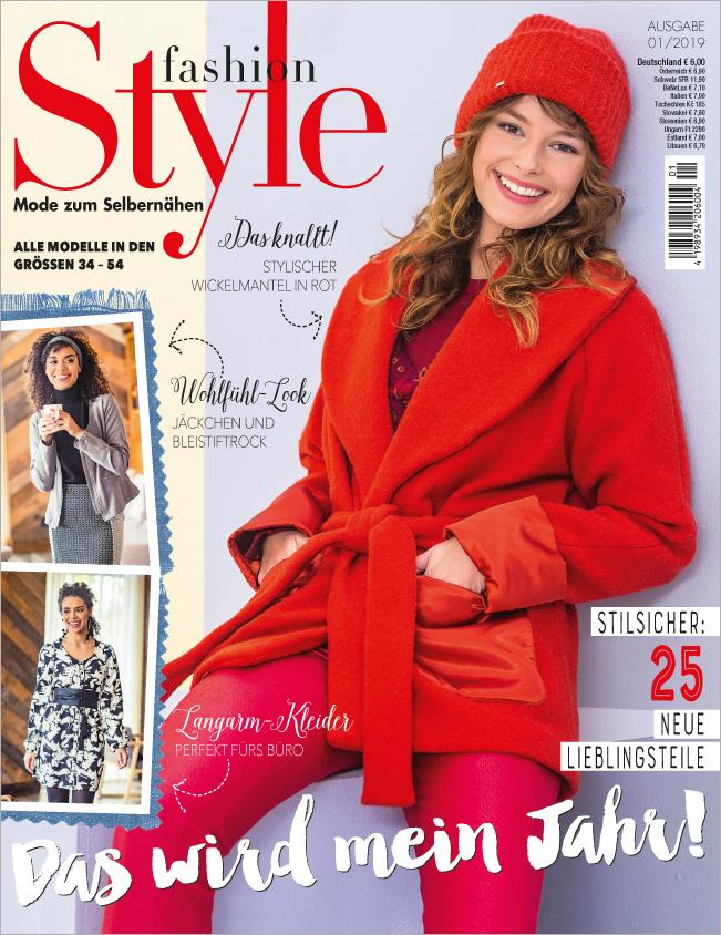 Fashion Style Nr. 01/2019 - Das wird mein Jahr!