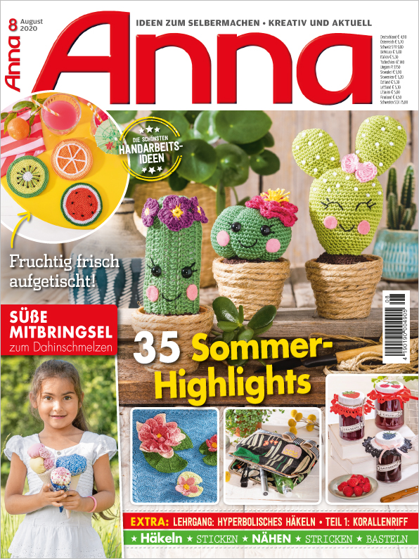 Anna Nr. 08/2020 - 35 Sommer-Highlights