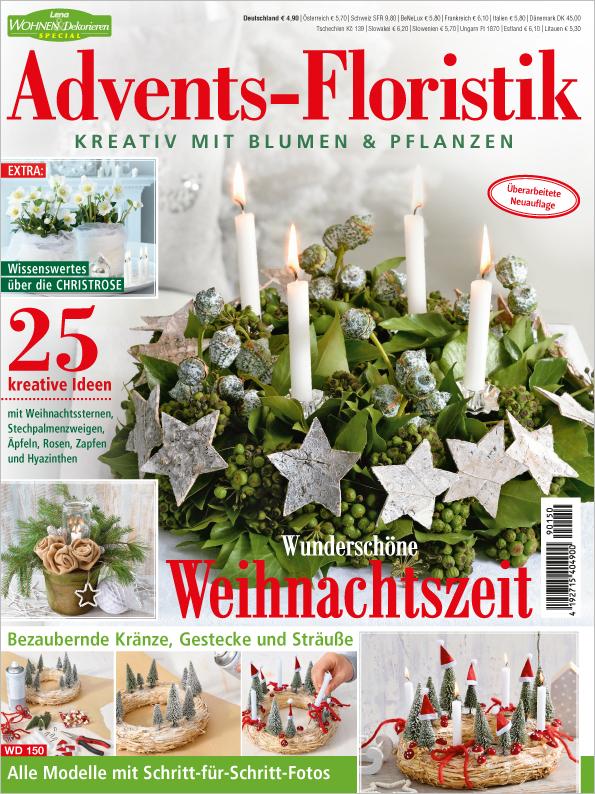 Lena Wohnen & Dekorieren Sonderheft - Advents-Floristik