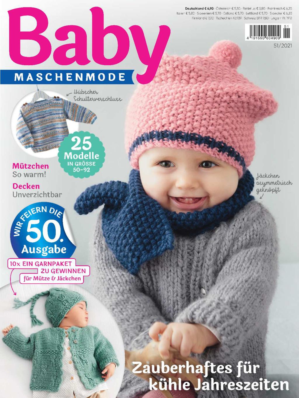Baby maschenmode 51/2021 - Zauberhaftes für kühle Jahreszeiten