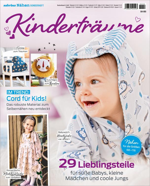Sabrina Nähen Sonderheft - Kinderträume - 29 Lieblingsteile
