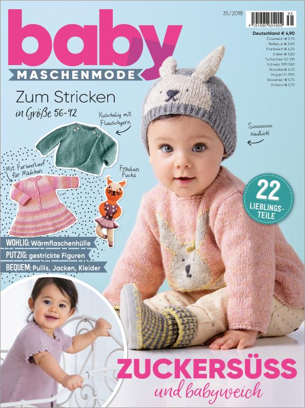 Baby Maschenmode Nr. 35/2018 - Zuckersüß und babyweich