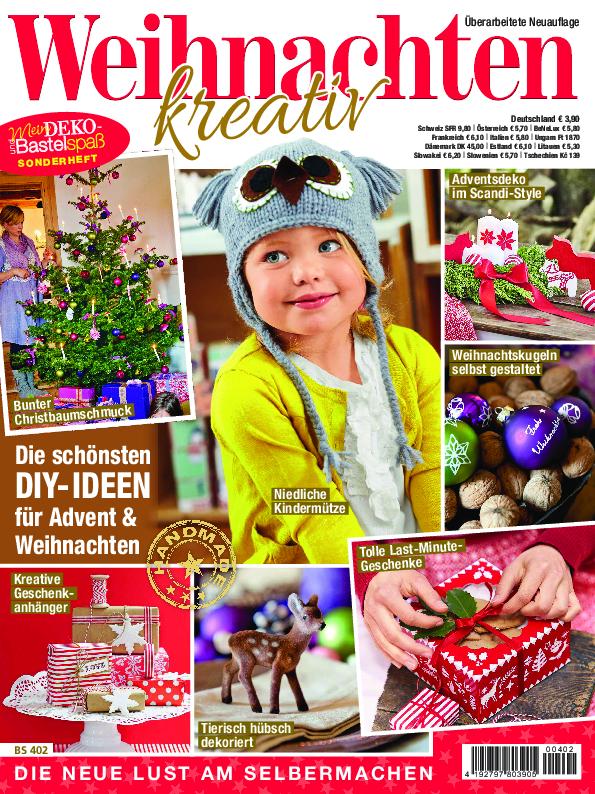 Mein Deko- und Bastelspaß Sonderheft Nr. BS 402 - Weihnachten kreativ - Die schönsten DIY-Ideen