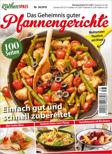 Küchenspaß 38/2019 - Das Geheimnis guter Pfannengerichte