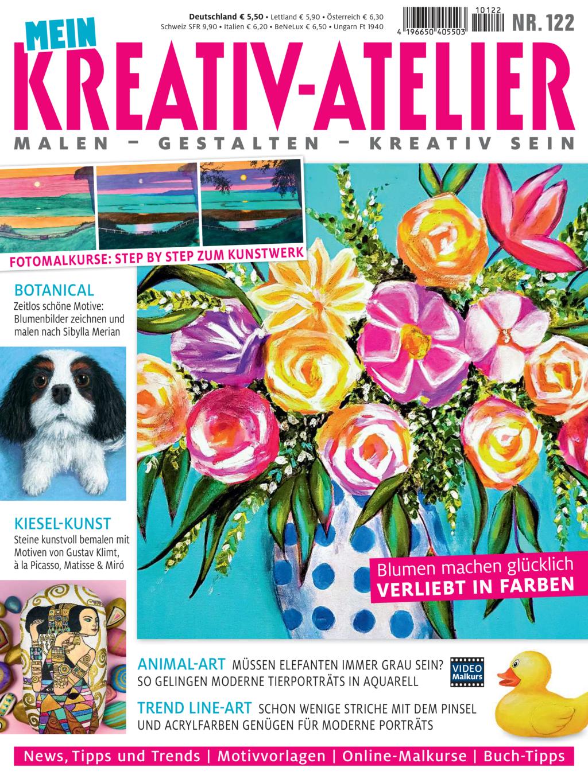 E-Paper: Mein Kreativ-Atelier Nr. 122 - Verliebt in Farben