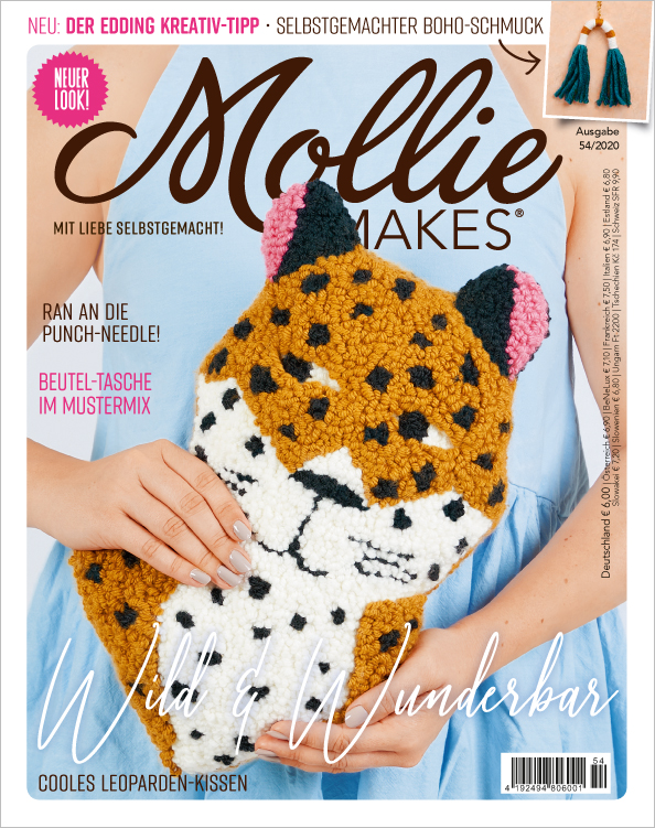 Mollie Makes Nr. 54/2020 - Wild & Wunderbar