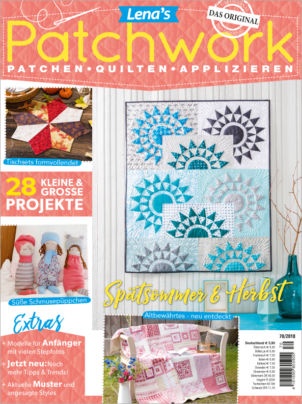 Lena´s Patchwork  Nr. 70/2018 - Spätsommer & Herbst