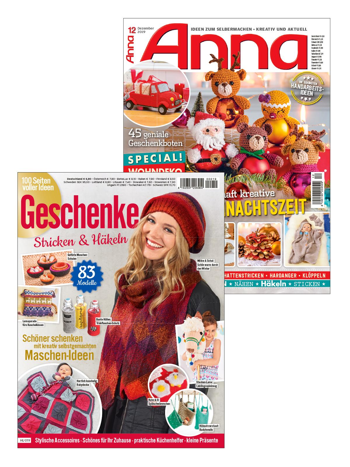 2 Zeitschriften statt Euro 11,40 nur Euro 5,70 zum Spartarif