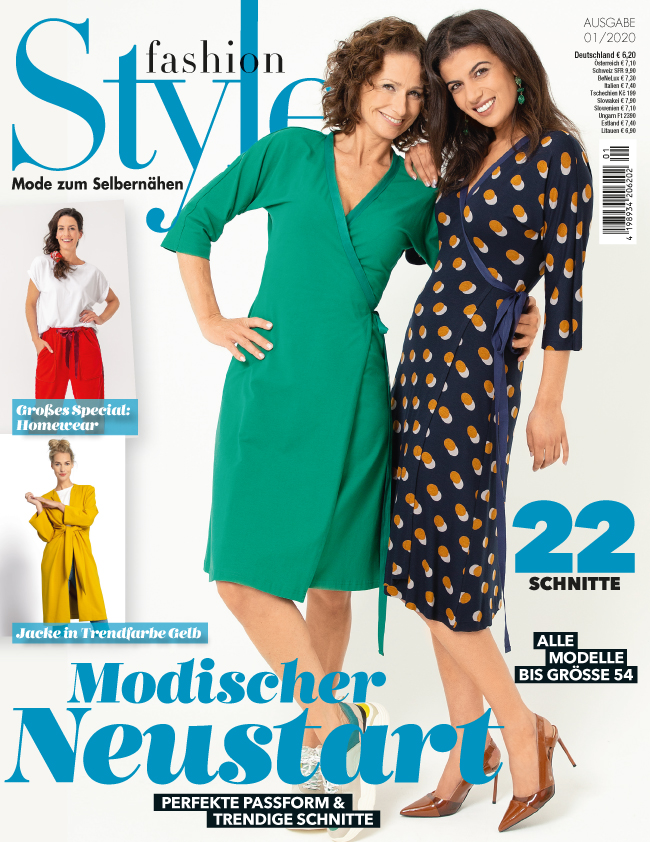 Fashion Style Nr. 01/2020 - Modischer Neustart