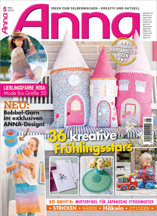 Anna Nr. 05/2019  - 36 kreative Frühlingsstars