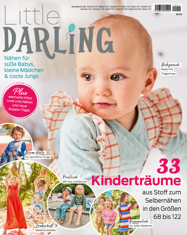 Little Darling - 33 Kinderträume aus Stoff zum Selbernähen