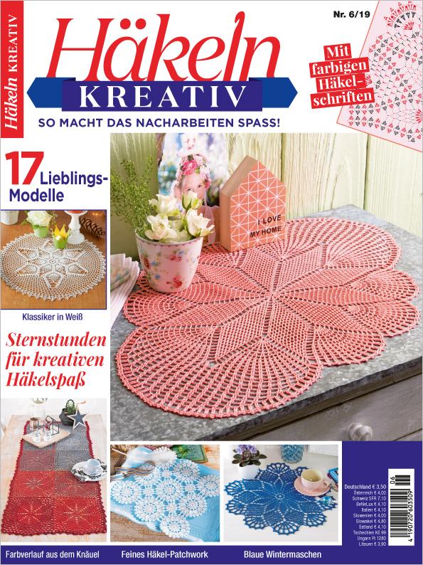 Häkeln kreativ Nr. 06/2019- Sternstunden für kreativen Häkelspaß