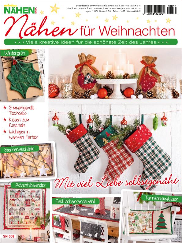 Sabrina Nähen Sonderheft - Nähen für Weihnachten