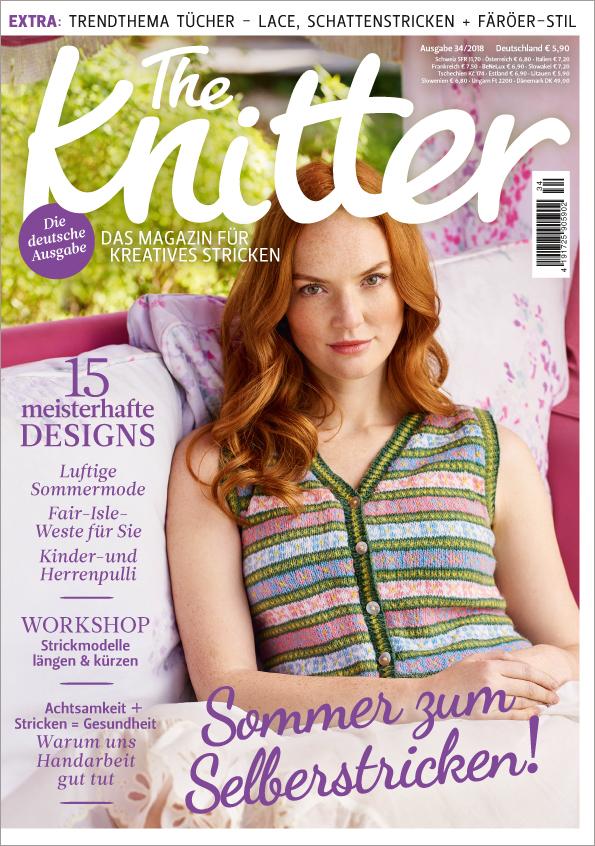 The Knitter Nr. 34/2018 - Sommer zum Selberstricken!