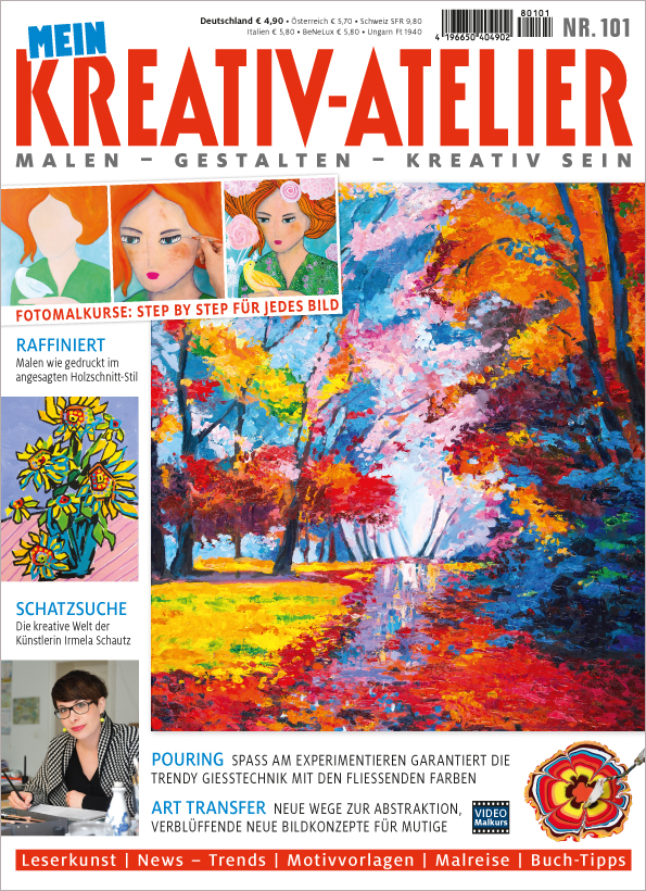 Mein Kreativ-Atelier Nr. 101/2018