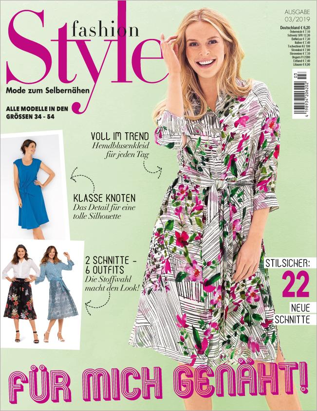Fashion Style Nr. 03/2019 - Für mich genäht!