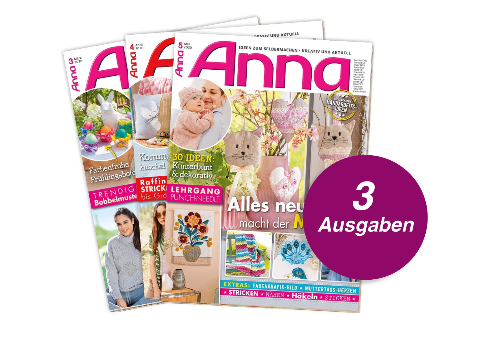 Anna - 3 Ausgaben Testabo