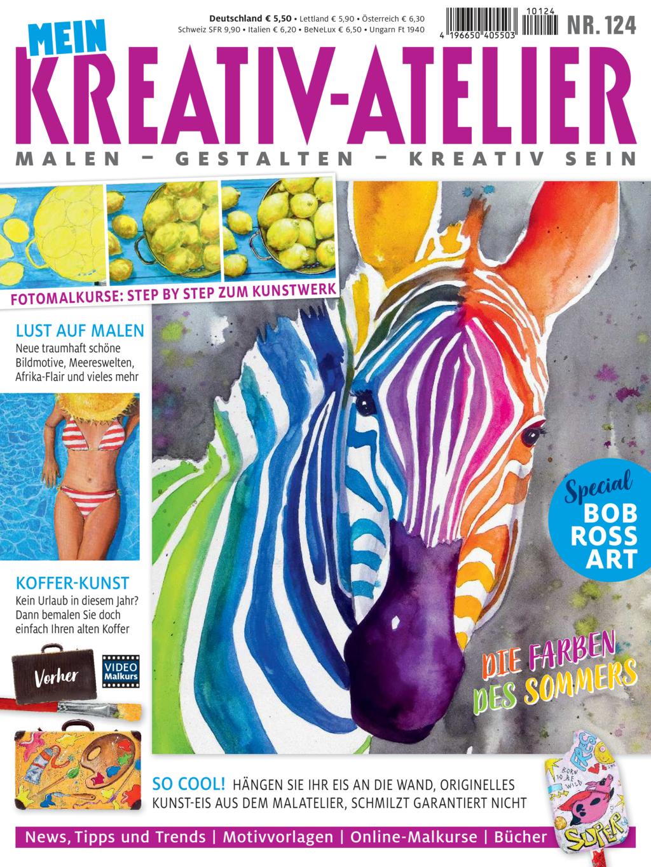 Mein Kreativ-Atelier Nr. 124/2021 - Die Farben des Sommers