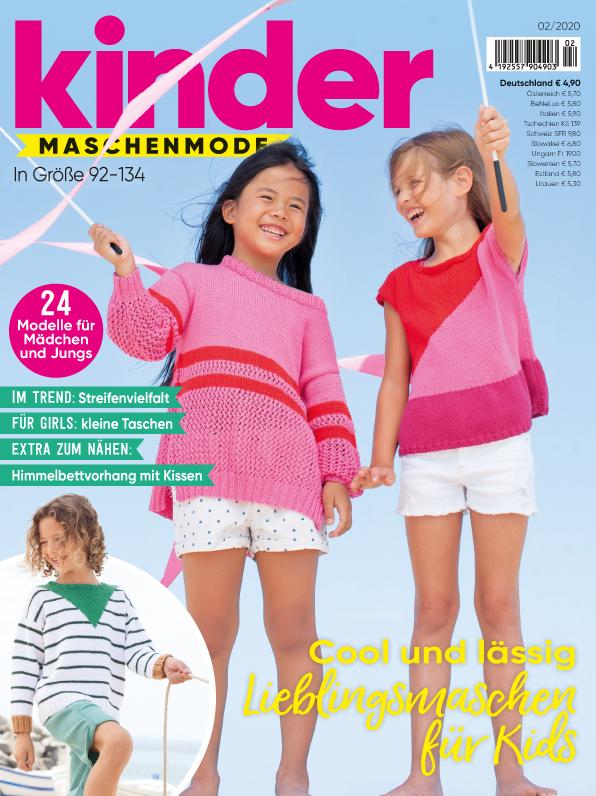 Kinder Maschenmode - Cool und lässig: Lieblingsmaschen für Kids