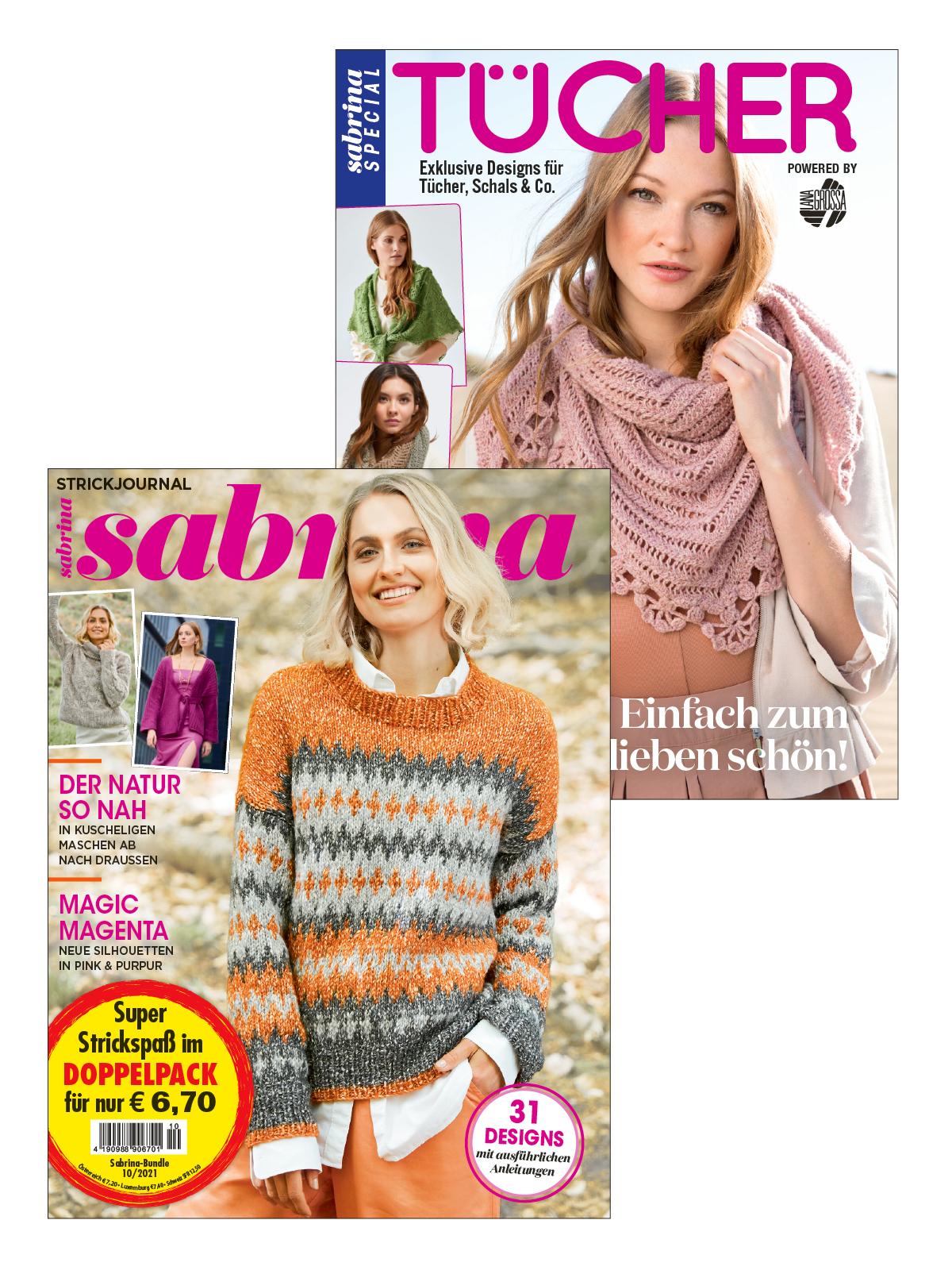 2 Zeitschriften: Sabrina Nr. 10/2021 und S 2589