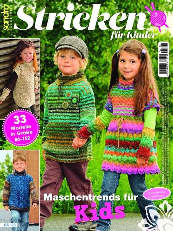 Sandra Sonderheft SA 123 - Stricken für Kinder