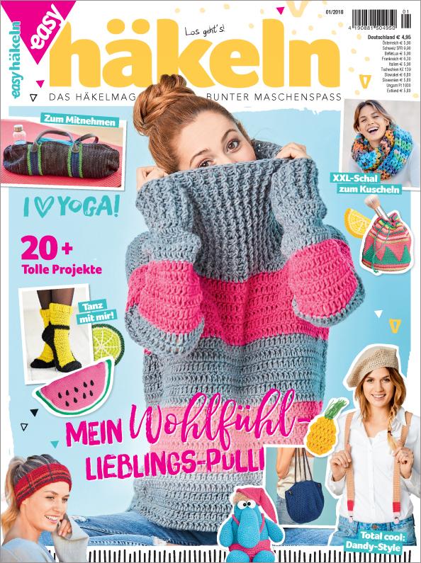 Easy Häkeln Nr. 01/2018- Mein Wohlfühl-Lieblings-Pulli