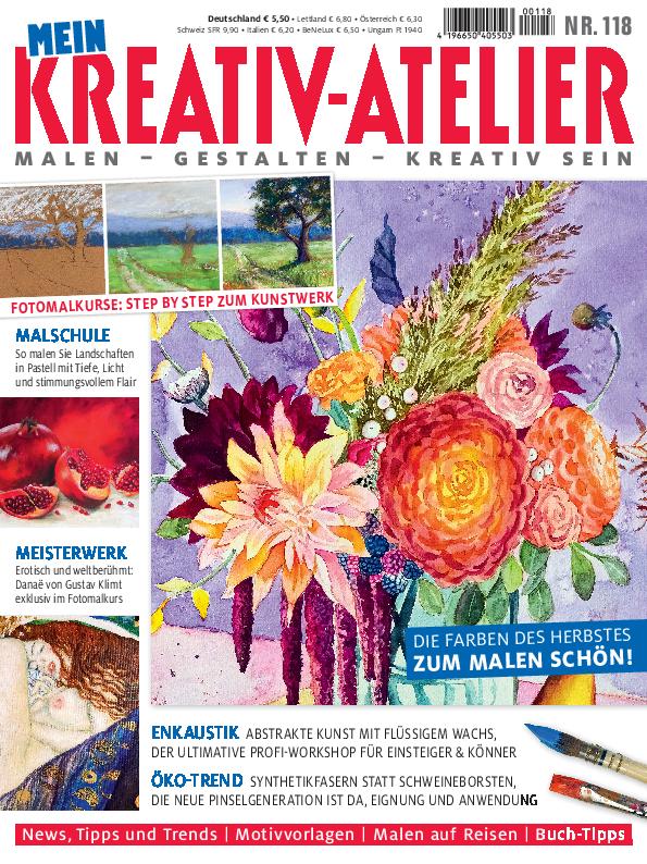 Mein Kreativ-Atelier Nr. 118 - Die Farben des Herbstes - Zum Malen schön!