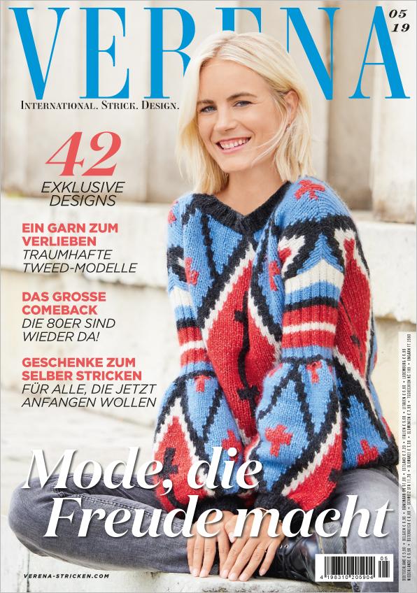 Verena Stricken Nr. 05/2019 - Mode, die Freude macht