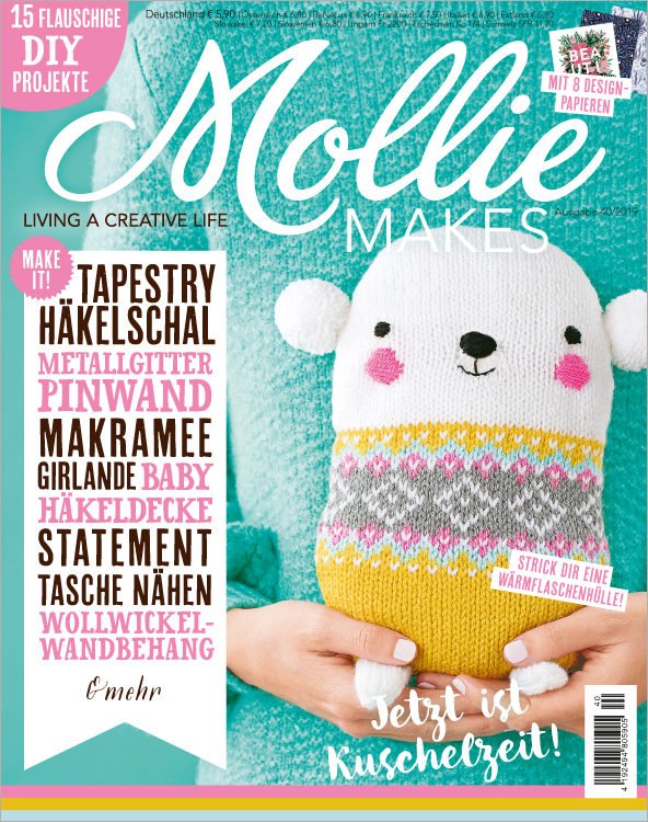 Mollie Makes Nr. 40/2019 - Jetzt ist Kuschelzeit!