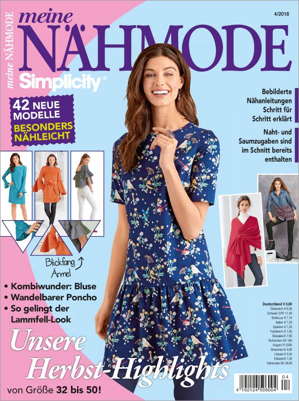 Meine Nähmode  04/2018 - Unsere Herbst-Highlights