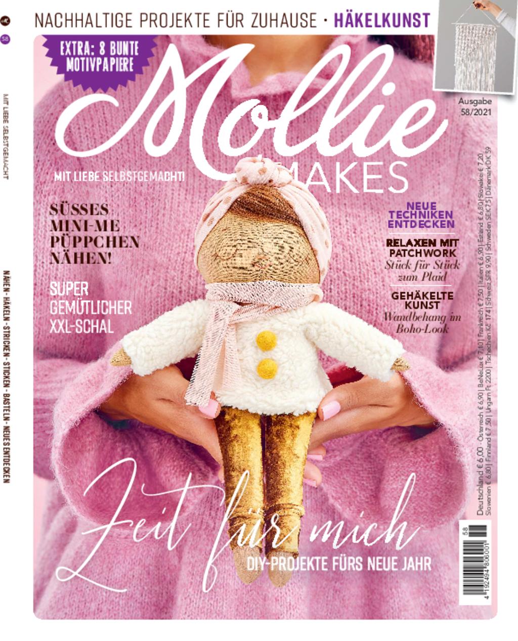 Mollie Makes Nr. 58/2021 - DIY-Projekte für das neue Jahr
