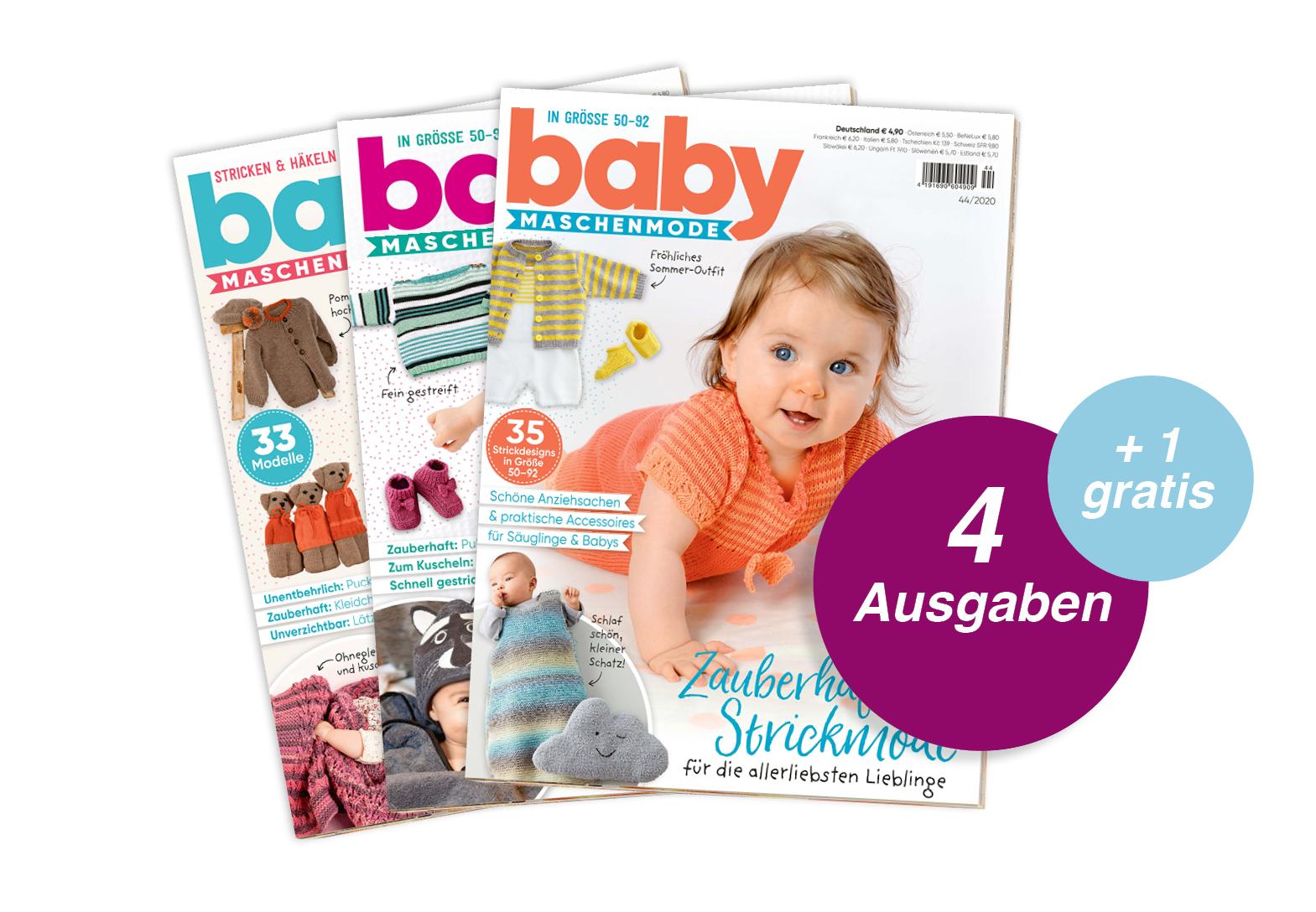 Baby Maschenmode - Abo + 1 Ausgabe gratis