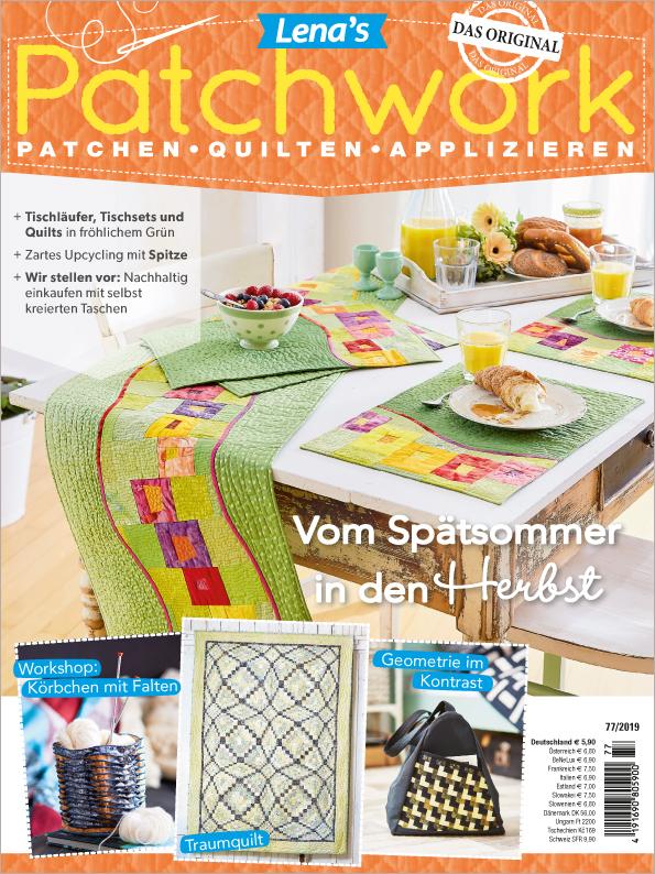 Lena´s Patchwork Nr. 77/2019 - Vom Spätsommer in den Herbst