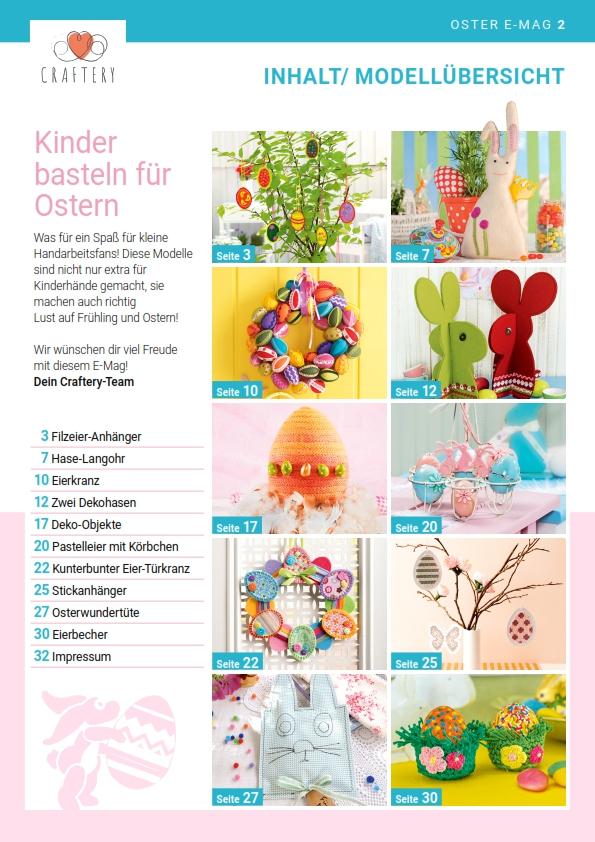 E-Magazin Nr. 02/21: Ostern – Handarbeit für Kinderhände