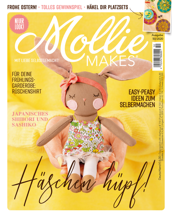 E-Paper: Mollie Makes Nr. 50/2020  - Häschen hüpf!