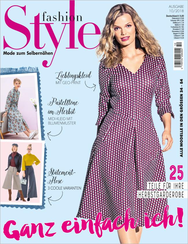 Fashion Style Nr. 10/2018 - Ganz einfach ich!