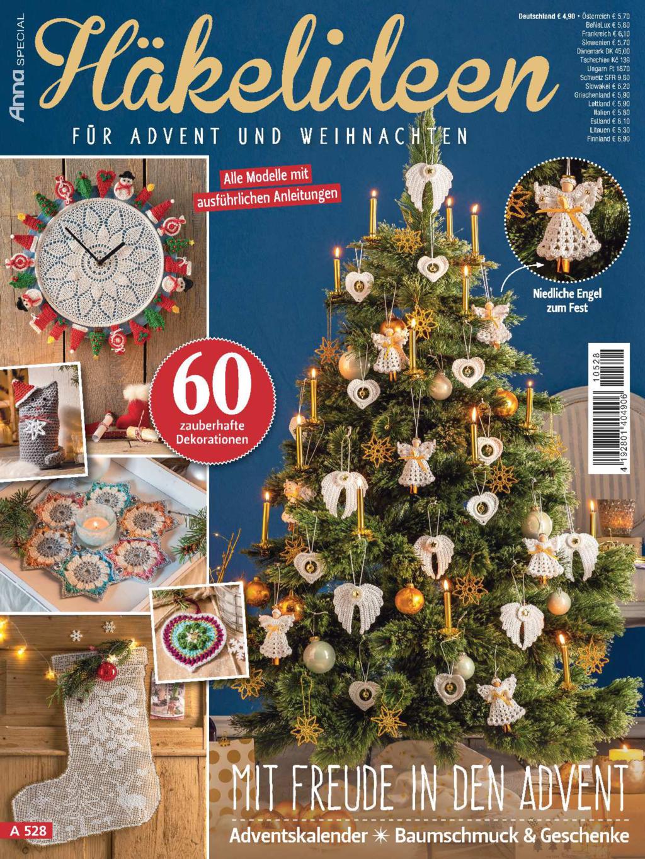 Anna Special A 528 - Häkelideen für Advent und Weihnachten