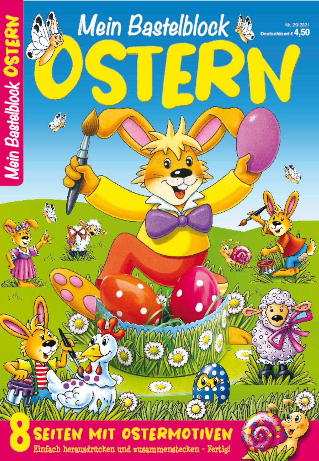 Bastelblock Ostern