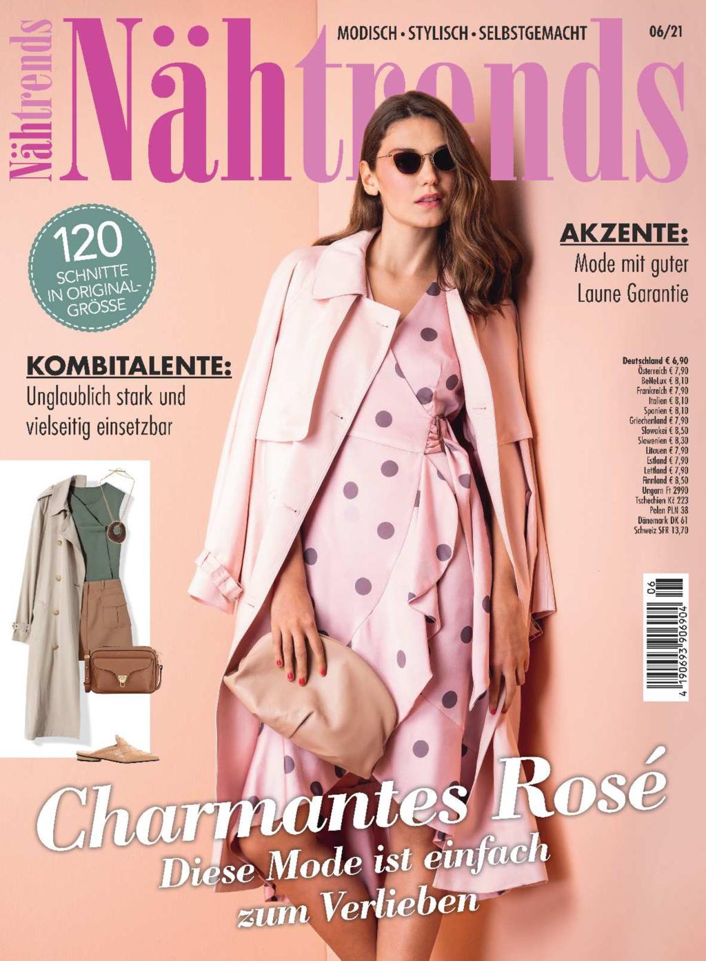 Nähtrends Nr. 06/2021 - Charmantes Rosé