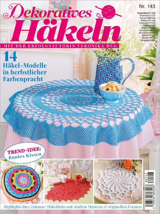 Dekoratives Häkeln Nr. 143/2018 - 14 Häkel-Modelle in herbstlicher Farbenpracht