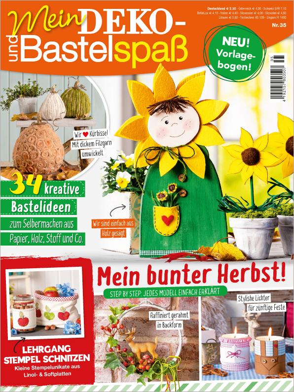Mein Deko- und Bastelspaß Nr. 35/2019 - Mein bunter Herbst!