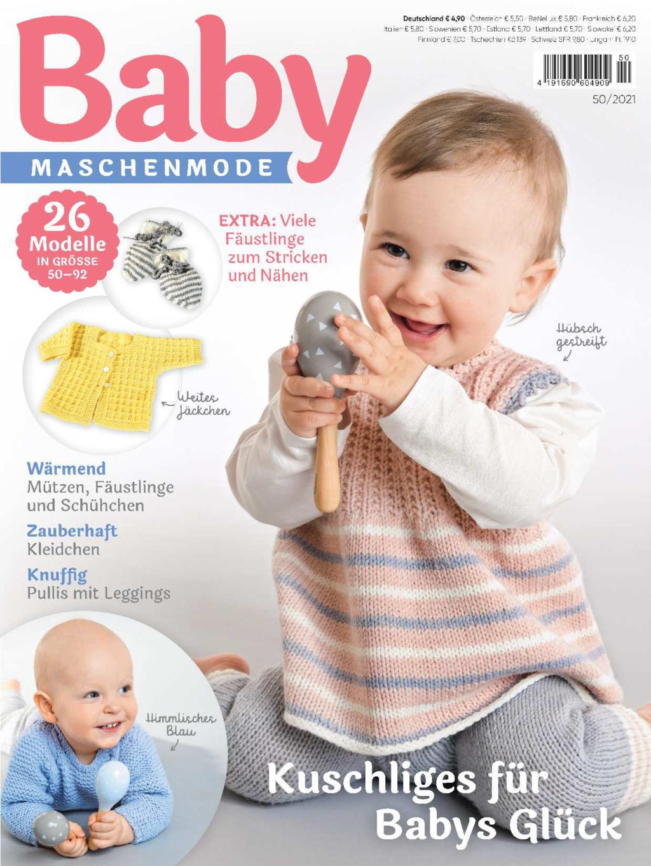 Baby Maschenmode 50/2021 - Kuschliges für Babys Glück
