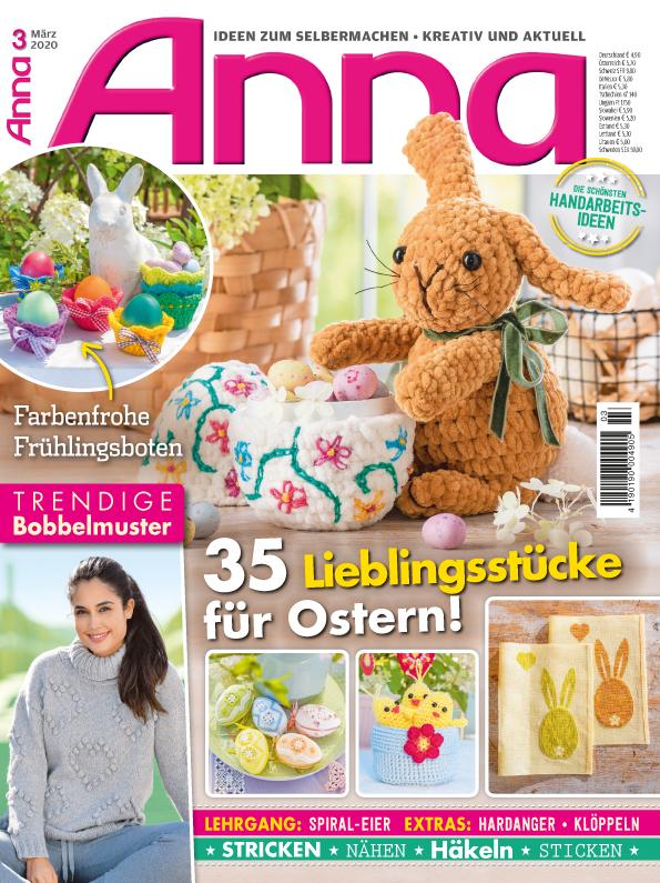 Anna Nr. 03/2020 - 35 Lieblingsstücke für Ostern!