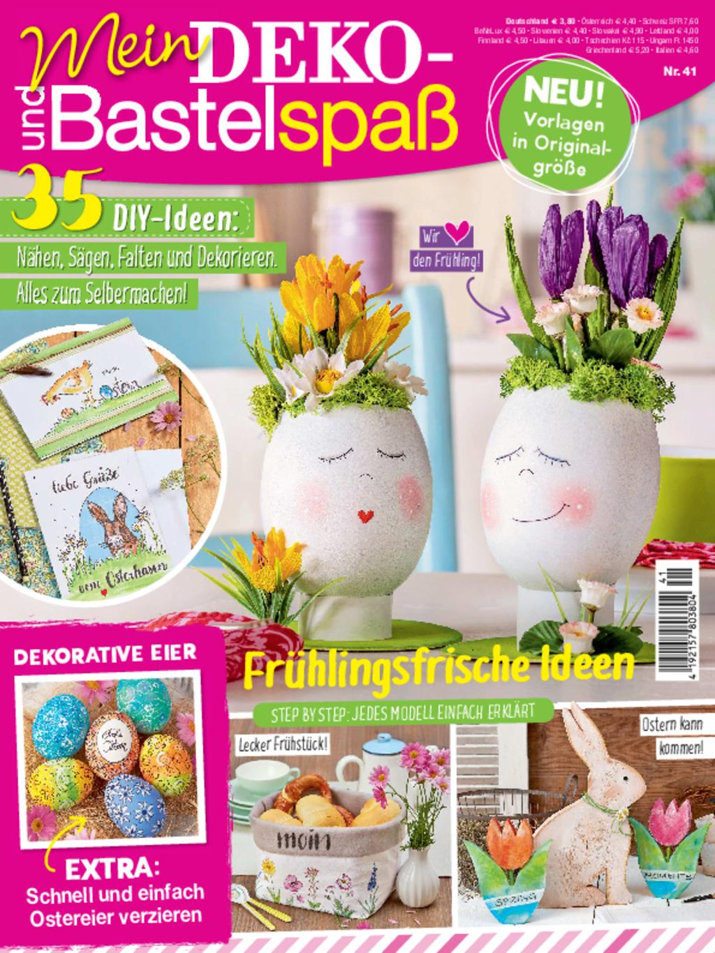 E-Paper: Mein Deko- und Bastelspaß Nr. 41/2021 - Frühlingsideen