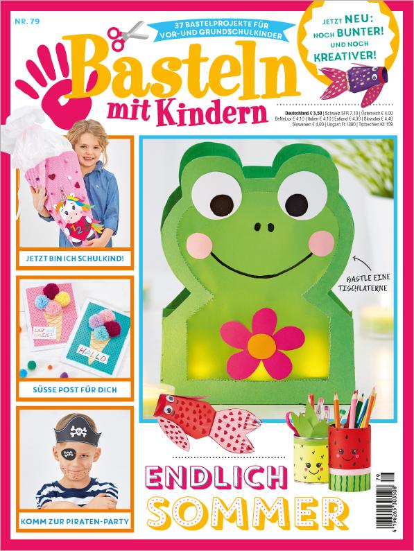 Basteln mit Kindern Nr. 79/2019 - Endlich Sommer