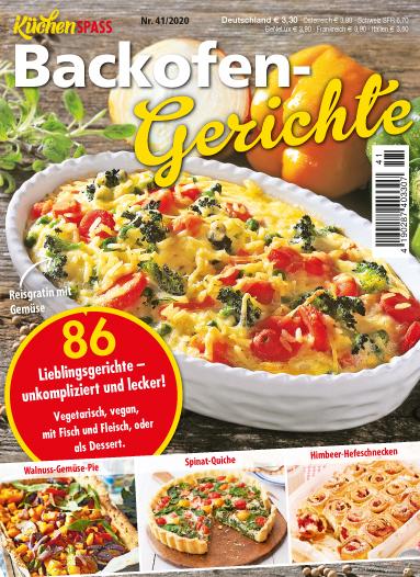 Küchenspaß 41/2020 - Backofen-Gerichte