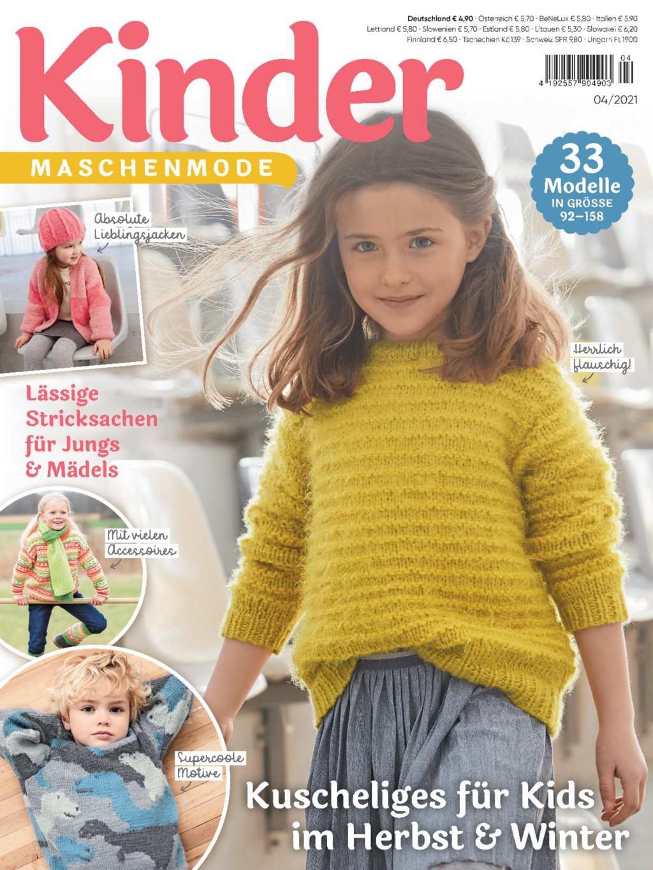Kinder Maschenmode 4/2021 - Kuscheliges für Kids im Herbst & Winter