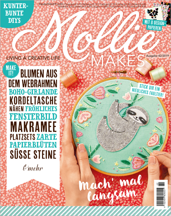 Mollie Makes Nr. 42/2019 - Mach mal langsam
