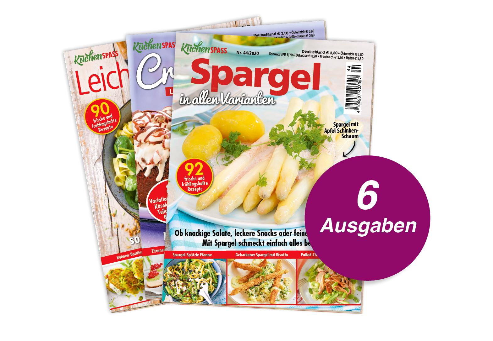 KüchenSPASS - Abo