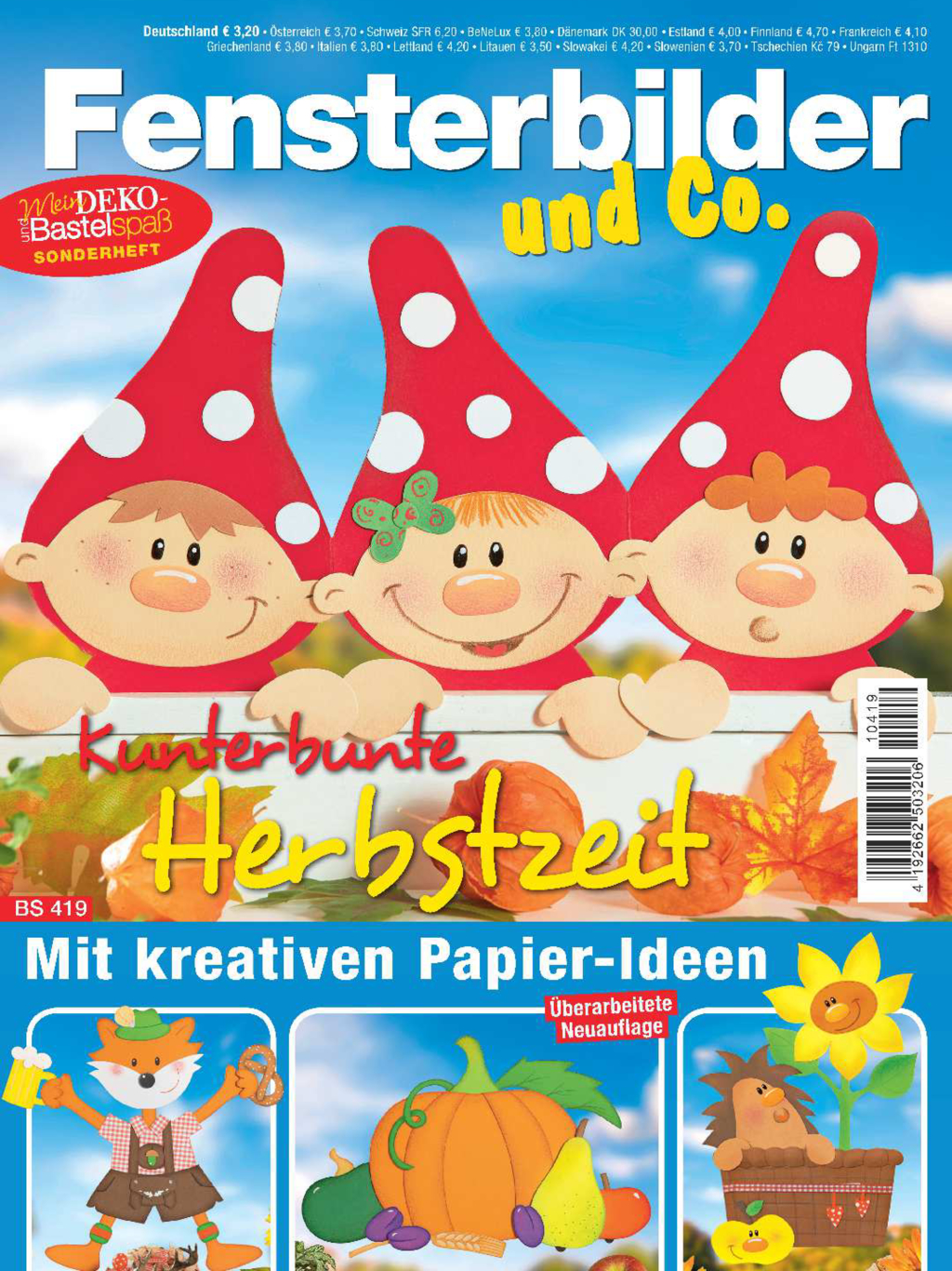 Mein Deko- und Bastelspaß Sonderheft  BS 419 - Kunterbunte Herbstzeit
